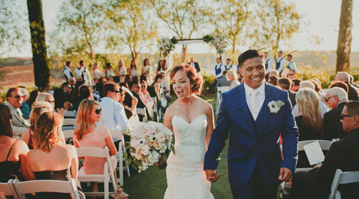 Real Weddings Wedding At Falkner Winery