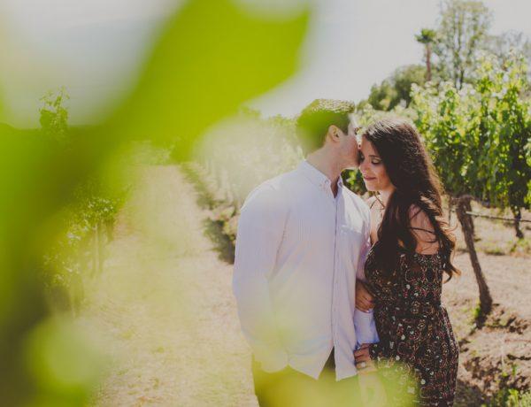 Wilson Creek Winery Engagement Photos