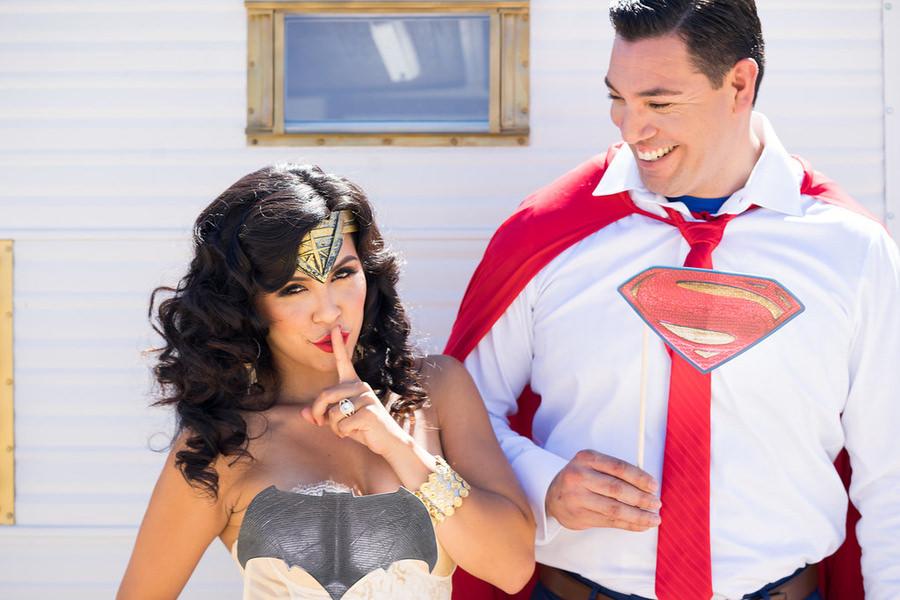 Superman Engagement Photos